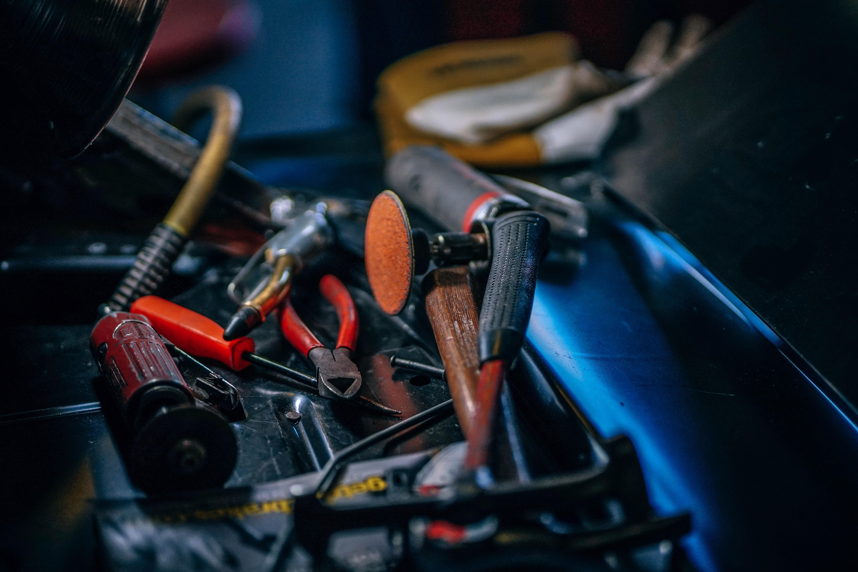 hvac odors, tools in bag