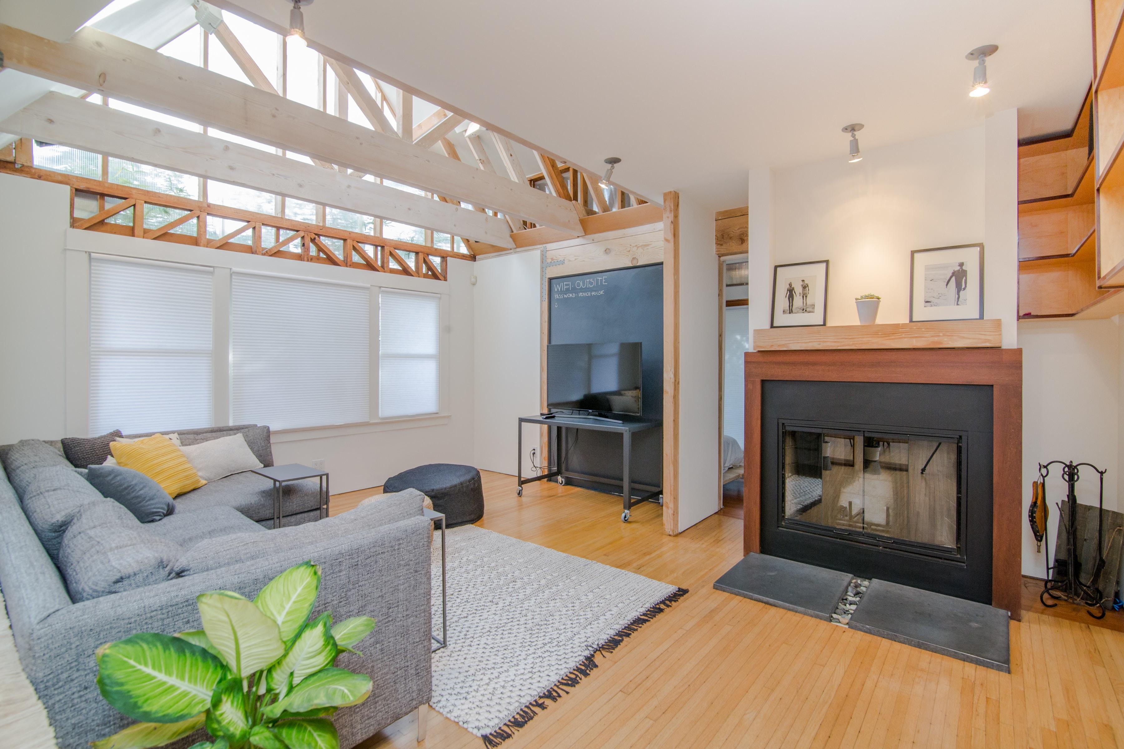 Interior of home with no indoor pollutants